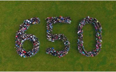 650 Kinder für 650 Jahre Schöneck