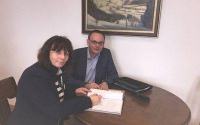 enviaM unterzeichnet neuen Stromkonzessionsvertrag mit Schöneck