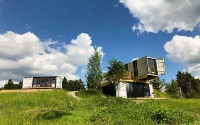 Drei Sterne für Container Lofts     in Schöneck