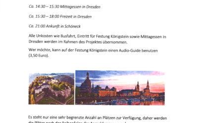 Ausflug nach Dresden 13.07.2021