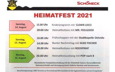 Schönecker Heimatfest 2021